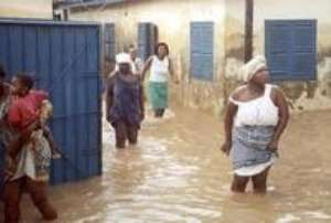 FLOODING IN ACCRA, THE RIPPLE EFFECTS OF CHOKED DRAINS.